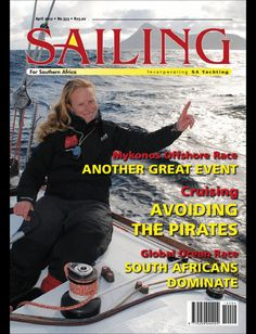 SA's Specialist Sailing Magazine  SAILING has adopted an editorial policy dedicated to the safety of yachtsmen through education. Its broad spectrum of reports include in-depth technical features on the art and science of sailing, analysis of advances in equipment design, and anecdotal coverage of all yachting events. It is the only South African specialist interest magazine comprehensively covering developments in local and international sailing circles