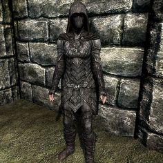 Skyrim Nightingale Armor Female