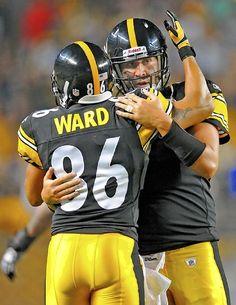 Hines Ward and Ben Roethlisberger