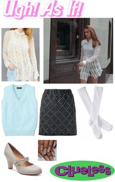 Clueless Fashion, Clueless Outfits, 80s And 90s Fashion, Fashion Tv, Teen Fashion Outfits, Stylish Outfits, Cool Outfits, Clueless Aesthetic, Aesthetic Fashion