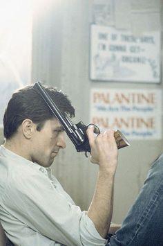 """Robert de Niro en """"Taxi Driver"""", por Steve Schapiro, 1976"""