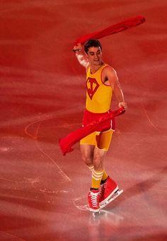 SUPER-Javier Fernandez . Spain . Ice skating