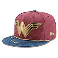 New Era Fitted Special Edition Character Armor cap released for the movie Wonder  Woman Embroidered Wonder Woman logo in front and at the back Sublimated ... c9926f46ae7