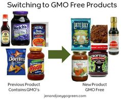 Switching to GMO free products is easy!