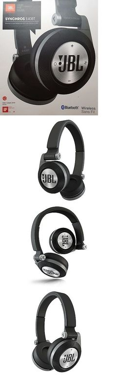 Headsets and Earpieces: New In Box Jbl Black Synchros E40bt Wireless Bluetooth On-Ear Stereo Headphones -> BUY IT NOW ONLY: $48.99 on eBay!