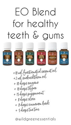 Using Essential Oils in your Dental Routine