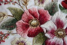 Fred's Wife: Dog Roses A Trish Burr design