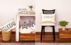 BHARANI Almohadones y objetos deco estampados para llenar tus ambientes de felicidad. http://charliechoices.com/bharani/