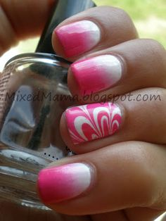 MixedMama: Gradients and Water Marble Together