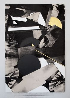 Panos Tsagaris, A passing breathgold leaf, acrylic paint and silkscreen on canvas, 150x100 cm,2016. Courtesy of the artist and Kalfayan Galleries, Athens-Thessaloniki.