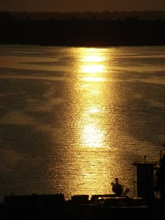 Golden Sunrise by dbraga56 - Manaus, Amazonas, Brazil.