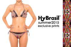 Variados Prints vão chamar a atenção no verão. A dica é abusar do colorido. Os modelos de biquínis da Hy fazem toda a diferença e combinam perfeitamente com cada estampa. #Biquíni #HyBrasil #Estampas #Exclusivas #Summer #2015 #AdoroPresentes #Moda
