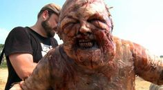 The well zombie...he was just SO disgusting it was amazing.