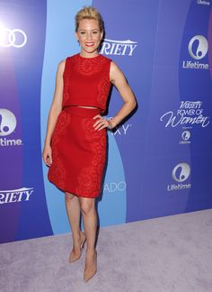 Elizabeth Banks wearing Dolce&Gabbana to Variety's 5th Annual Power of Women Event in Beverly Hills, CA on October 4, 2013