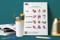 Circle the Picture – Ocean Sandbox, Campaign, Ocean, Content, Teaching, Medium, Words, Creative, Fun