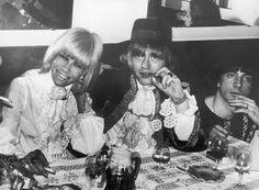 Anita Pallenberg, Brian Jones and Stash Klossowski De Rola at Cannes Film Festival, May the 6th 1967.(Photo credit: Hulton Archive)