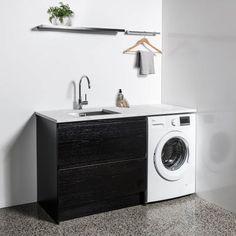 900 Laundry Cabinet by Bath Co Laundry Tubs, Laundry Room, Laundry Cabinets, Washing Machine, Home Appliances, Bath, Design, Inspiration, Image