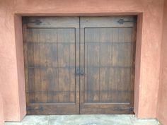 Custom Wood Sectional Overhead Garage Door. @GarageCastleic #garage #castle  #garagedoor Www