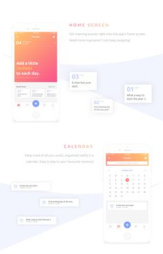 Everyday is an iOS journal app concept which allows you to jot down your daily memories in a simple, elegant yet powerful manner. Jot down memories, get inspired, discover other people's life journeys and much more everyday!