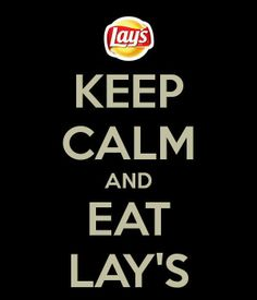 keep calm and eat #Lays  #MostActiveLaysFan