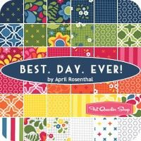 Best Day Ever MINI Charm Pack<BR>April Rosenthal for Moda Fabrics