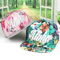 Amorous Feelings Colour Tie Dye ALOHA #Hawaii Unisex Baseball Beach Cap - Aliexpress.com - $6.99 | This looks to be a really beautiful #floral hat that would be ideal for summer! Tough decision between the green and pink, but I think I'd opt for the pink☺♥