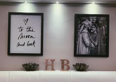 Finally got some photos up in the Master Bedroom ✨♡✖️ Newly Married, Just Married, Newlywed Bedroom, Master Bedroom, Bedroom Decor, Blogger Girl, Wall Quotes, First Home, Beautiful Bedrooms