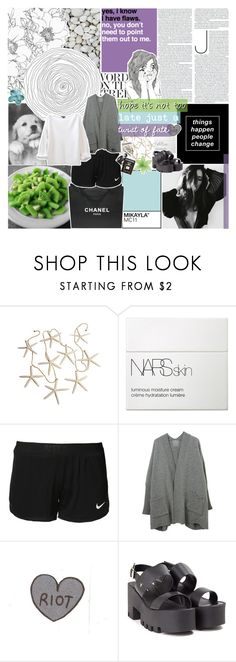"""""""you're always on my mind. ☆"""" by i-get-lost-sometimes ❤ liked on Polyvore featuring Chanel, NARS Cosmetics, NIKE, Windsor Smith and Assouline Publishing"""