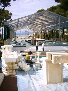 Décor en construction pour un mariage, Antibes Travail en équipe  https://www.facebook.com/zinzoline-peinture-d%C3%A9co-139089589494474/photos