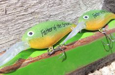 Personalized Fishing Lures Wedding Groomsmen by CandTCustomLures, $18.00