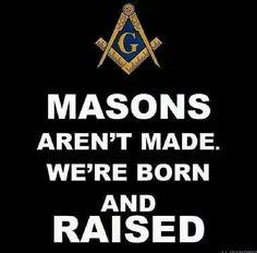 We're born