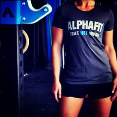 A great rig, next to a rig, promoting rigs! We love having the great Aussie rig building company @alphafit_aus on board TWL. thewodlife.com.au stock a range of men's and women's alphafit apparel. Thanks @gemma_dawson for being such a great model! #crossfit #rigs #hot #twl #thewodlife somuchrigaction #builtnotbought