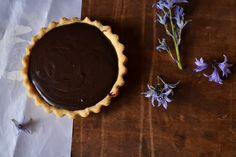 Lemon & Lime Thyme: Chocolate Tartlets