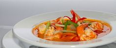 TOM YOM KONG SPICY THAI SOUP WITH PRAWN