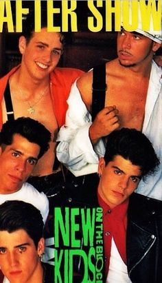Old school nkotb ( I have this in the form of a laminated back stage pass that they were selling at the concerts!)