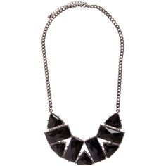 PIECES Demi Necklace ($32) ❤ liked on Polyvore