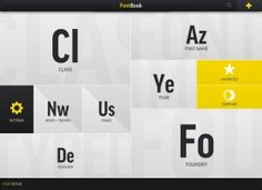 Font Interface