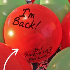 How did Elf get INSIDE the balloon! Instructions for getting Elf in the B Christmas Activities, Christmas Traditions, Awesome Elf On The Shelf Ideas, Elf Is Back Ideas, Marker, Elf Christmas Decorations, Elf Magic, Elf On The Self, Naughty Elf