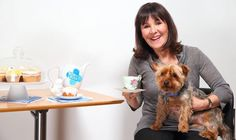 Arlene Phillips joins forces with animal charity Blue Cross to launch tea party event!
