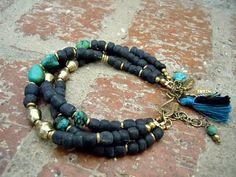 Bohemian Bracelet / Gypsy Jewelry / Boho / Gypsy by Syrena56