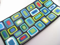 Fused Glass Sushi Tray – Cobblestone | Glass Art by Margot – Stained Glass & Fused Glass Artist
