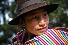 Acabo de compartir la foto de Milton Cesar Rodriguez Triviños que representa a: Niña Ayacuchana