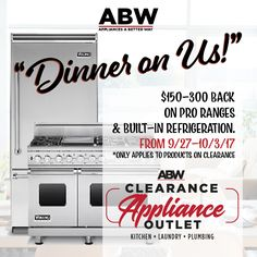 Abw Clearance Liance Outlet Kitchen Liances