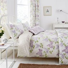 Sanderson Lilac 'Lilacs' bed linen- at Debenhams.com