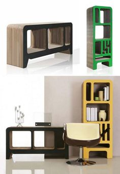 Here's another example of recycled cardboard furniture, this time from German designer Reinhard Dienes. The design would be immensely strong and should last years with reasonable care. What do you think?    By the way, have you visited Paper Houses, our newest blog? You can catch it at http://recycled.theownerbuildernetwork.com.au/