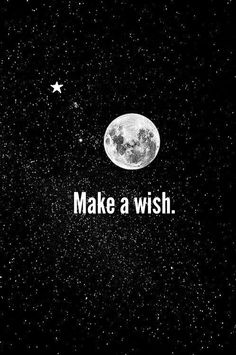 Make a wish ★ iPhone wallpaper
