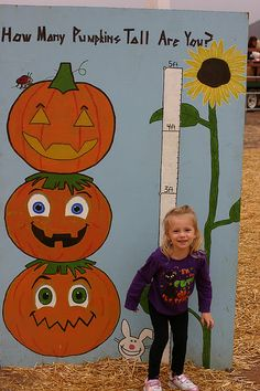 Fun idea to have at a fall festival.