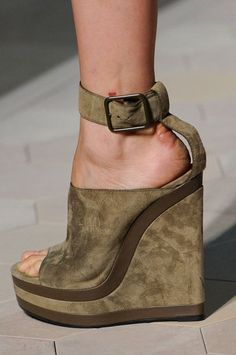 The runways of Paris offered some of the kookiest shoes of the season: there were clunky, fur-lined sandals at Céline, impossibly slender mini pumps at Hot Shoes, Crazy Shoes, Wedge Shoes, Me Too Shoes, Shoes Heels, Flat Sandals, Zapatos Shoes, Pumps, Beautiful Shoes