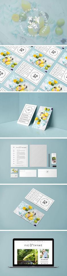 Fig and Thyme Branding by White Oak Creative | Fivestar Branding – Design and…