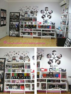 Goals Army Room Decor, Living Room Decor, Bedroom Decor, Bedroom Reading Nooks, Kpop Diy, Kawaii Room, Childrens Beds, Room Goals, Room Planning